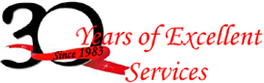 Since 1983, 30 Years of Excellent Services