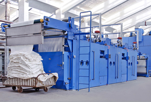 Full-width air flow softening drying and baking combination machine